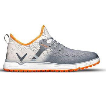 Callaway Men's Apex Lite Golf Shoes - Grey/Orange