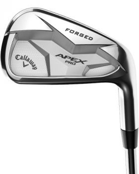 Callaway Apex Pro 2019 4-PW Iron Set with Stiff Flex Steel Shaft
