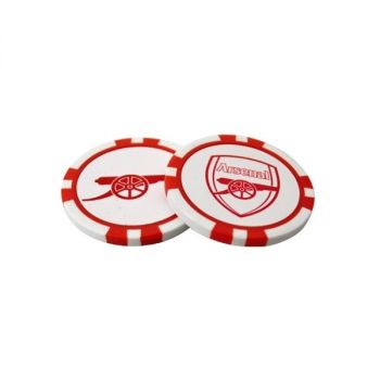 ARSENAL POKER CHIP MARKER SET