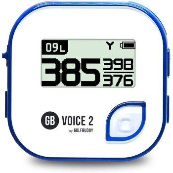 GolfBuddy Voice 2 Golf GPS - White Navy
