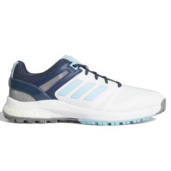 Adidas Women's EQT Spikeless  Golf Shoes - Cloud White/Hazy Sky/Crew Navy