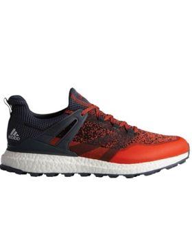 Adidas Crossknit Boost Golf Shoes - Blaze Orange/Bold Onix