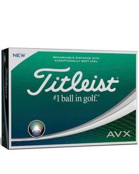 Titleist AVX Golf Balls - White