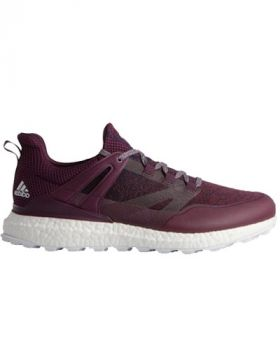 Adidas Crossknit Boost Golf Shoes - Noble Pink/ Red Night/White