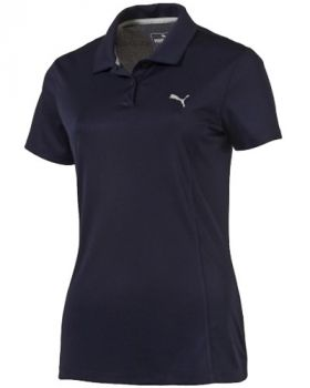Puma Women's Pounce Golf Polo Shirt - Peacoat