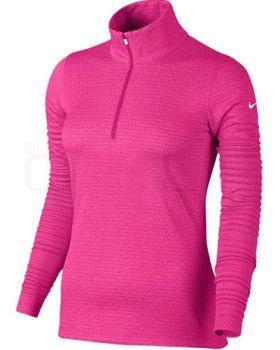 Nike Women's Lucky Azalea 1/2 Zip 3.0 Jacket - Hyper Pink
