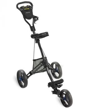 Bag Boy Express DLX Golf Trolley - Mate Black/Blue