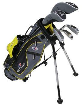 Us Kids Golf UL42-U 4 Club All Graph Stand Set - Yellow