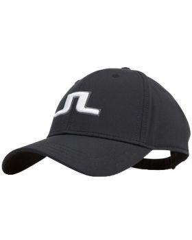 J.Lindeberg Angus Tech Stretch Cap - Black