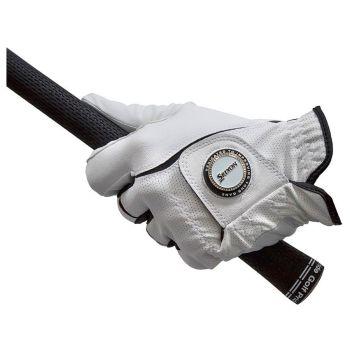 Srixon Women's All Weather Ballmark Gloves Right Hand - White (For The Left Handed Golfer)
