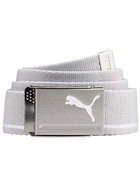 Puma Men's Poly Viscose Belt - Bright White