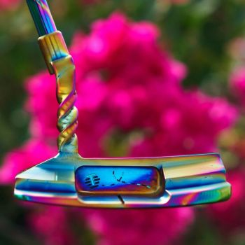 Bettinardi Limited Edition QB6 DASS Racing Stinger w/ Welded Twisty Neck Putter (Available In Al Quoz Branch)