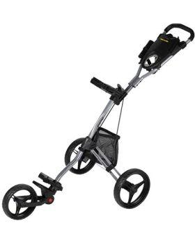 Bag Boy Express DLX Pro Push Cart - Silver/Black