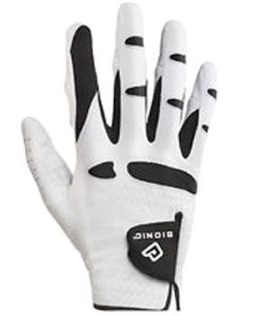 BIONIC RIGHT HAND GLOVE (FOR THE LEFT HANDED GOLFER) - WHITE/BLACK