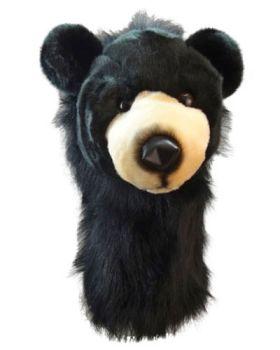 DAPHNE'S HEADCOVER FITSALL - BLACK BEAR