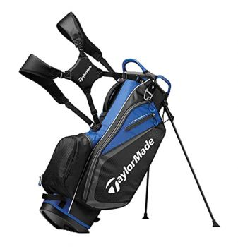 TaylorMade Select Stand Bag - Black / Blue