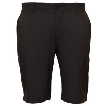 Jack Nicklaus Flat Front Solid Shorts - Caviar