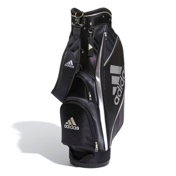 Adidas Golf Caddie Bag - Black / White