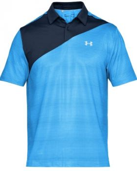 Under Armour CoolSwitch Blocked Polo Shirt - Maco Blue/Academy