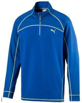 Puma Embossed 1/4 Zip Popover Jacket - Lapis Blue