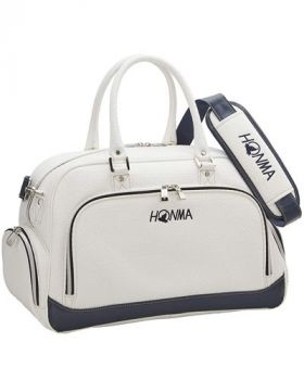 Honma Boston Bag - White