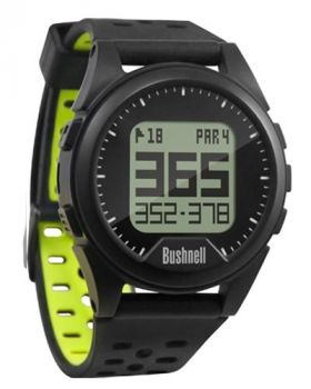 Bushnell Neo Ion Golf Watch - Black/Green