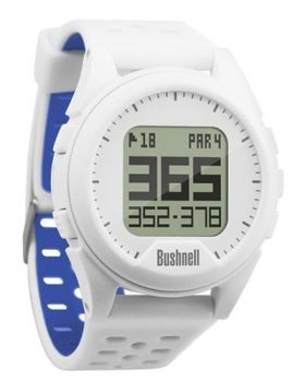 Bushnell Neo Ion Golf Watch - White/Blue