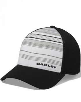 OAKLEY SILICON BARK TRUCKER PRINT 2.0 CAP - WHITE