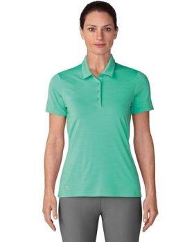 Adidas Women's Ultimate Short Sleeve Polo - Hi Res Green