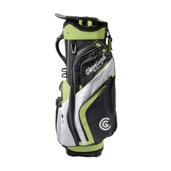 Cleveland CG 2020 Friday Cart Bag - Charcoal/Lime/White