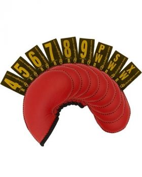 Club Glove Gloveskin Iron Covers Regular Red (4-9psx)