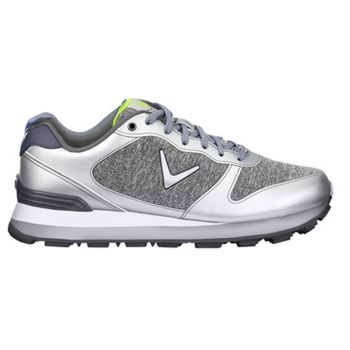 Callaway Men's Chev Vent Golf Shoes - Grey/Silver