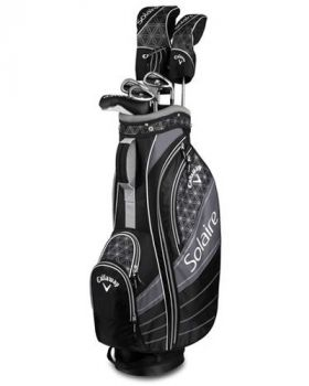 Callaway Ladies 2018 Solaire Black 8-Piece Complete Set