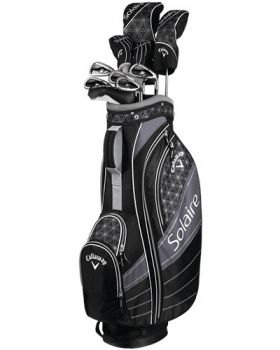Callaway Women's 2018 Solaire 11-Pieces Complete Set - Black