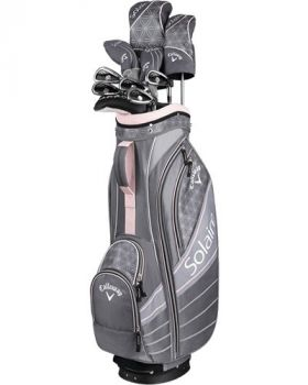 Callaway Women's 2018 Solaire 11-Pieces Complete Set - Cherry Blossom