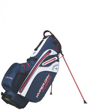 Callaway 2018 Hyper Dry Fusion Stand Bag - Navy/White/Red