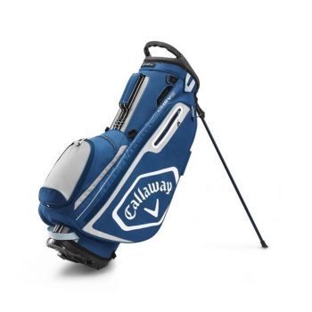 Callaway Stand Bag Chev - Navy/Silver