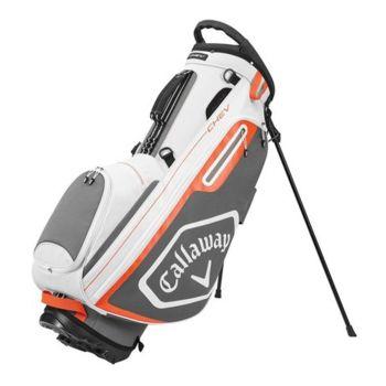 Callaway Stand Bag Chev- White/Charcoal/Orange