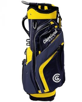 Cleveland Friday Cart Bag - Navy/Yellow