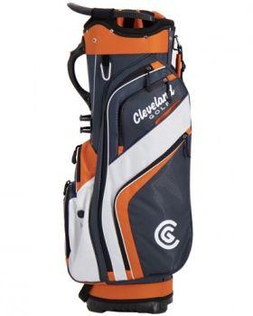 Cleveland Friday Cart Bag - Chrome/Orange/White