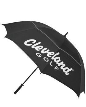 "Cleveland 62"" Double Canopy Umbrella - Black"