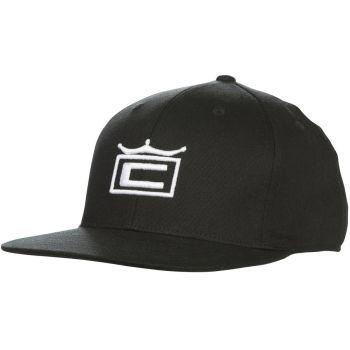 Cobra Men's Tour Crown Snapback Cap - Black