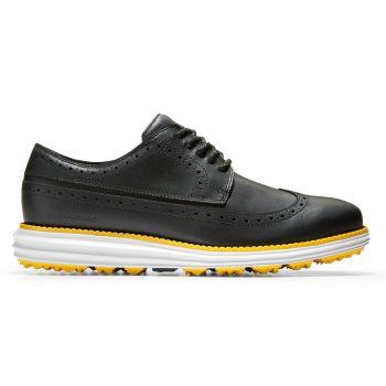 Cole Haan Men's ØriginalGrand Golf Shoes - Black/White