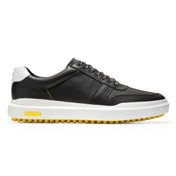 Cole Haan Men's GrandPrø AM Golf Sneaker Shoes - Black
