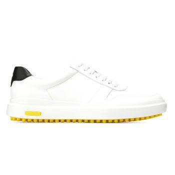 Cole Haan Men's GrandPrø AM Golf Sneaker Shoes - White