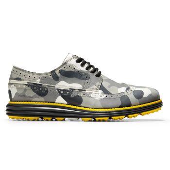 Cole Haan Men's ØriginalGrand Golf Shoes - Grey/Camo