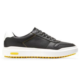 Cole Haan Women's GrandPrø AM Golf Sneaker Shoes - Caviar Black