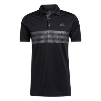 Adidas Men's Core Polo Shirt - Black / Grey Five