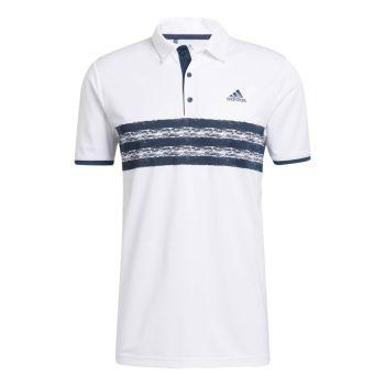 Adidas Men's Core Polo Shirt - White / Crew Navy