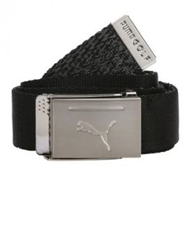 Puma Reversible Web Belt - Black